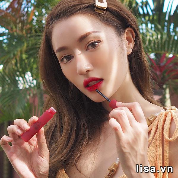 Son Kem Lì 3CE Smoothing Lip Tint Màu Shameless - Đỏ Hồng Trầm 2