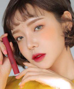 Son Kem Lì 3CE Smoothing Lip Tint Màu Shameless - Đỏ Hồng Trầm 4