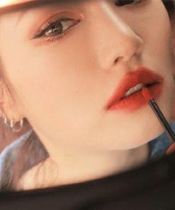 Son Kem 3CE Soft Lip Lacquer Màu Null Set - Đỏ Gạch 6