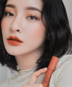 Son Kem 3CE Soft Lip Lacquer Màu Tawny Red - Cam Cháy 8