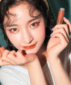 Son Kem 3CE Soft Lip Lacquer Màu Tawny Red - Cam Cháy 9