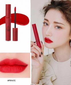 Son 3CE Velvet Lip Tint Private - Đỏ lạnh 7