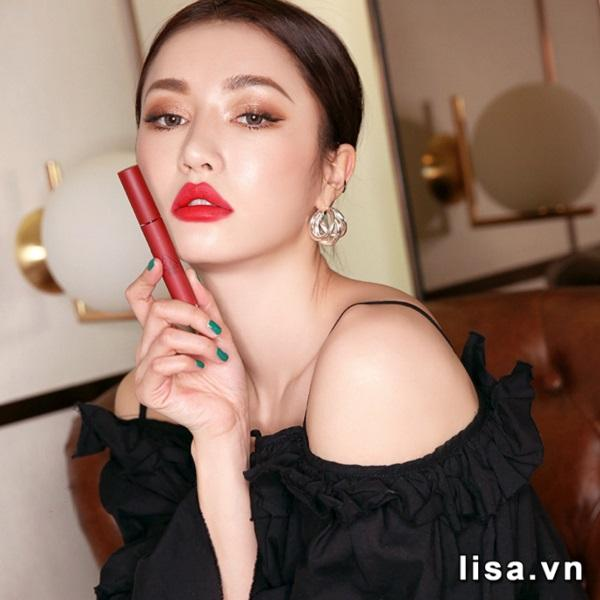 Son 3CE Velvet Lip Tint Private - Đỏ lạnh 3