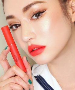 Son Kem Lì 3CE Velvet Lip Tint Màu Save Me - Đỏ Cam San Hô 12