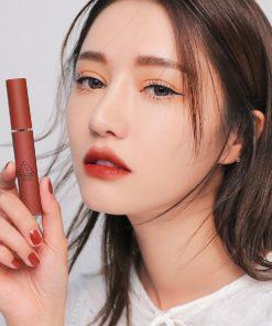 Son 3CE Velvet Lip Tint Taupe - Màu Đỏ Nâu 11