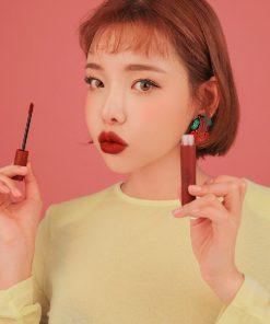 Son 3CE Velvet Lip Tint Taupe - Màu Đỏ Nâu 7