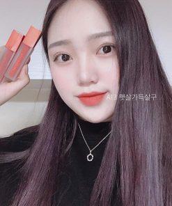 Son Black Rouge Air Fit Velvet Tint Ver 3 Màu A13 Juicy Apricot - Cam Đỏ 6