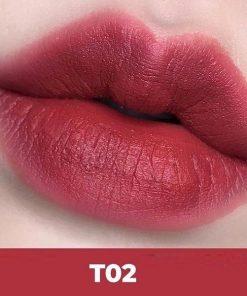 Son Kem Black Rouge Cotton Lip Color Màu T02 Vintage Lady - Hồng khô 7
