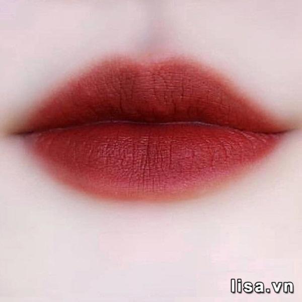 Son Kem Black Rouge Cotton Lip Color Màu T08 Hot Mocha - Đỏ Nâu Trầm 4