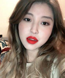 Son Kem Black Rouge Cotton Lip Color Màu T06 Orange Pop - Đỏ Cam 7