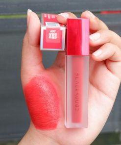 Son Black Rouge Air Fit Velvet Tint Ver 1 Màu A07 Pure Crimson - Hồng Đào 4