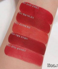 Đôi môi luôn tươi tắn, rạng rỡ với son Black Rouge màu R02