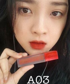 Son Black Rouge Air Fit Velvet Tint Ver 1 Màu A03 Soft Red - Đỏ Cam 5