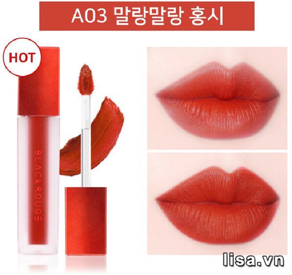 Chất son lì mịn môi của Black Rouge A03 mê hoặc không ít phái đẹp