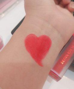 Son Black Rouge Strawberry Red A01 - Đỏ Dâu 7