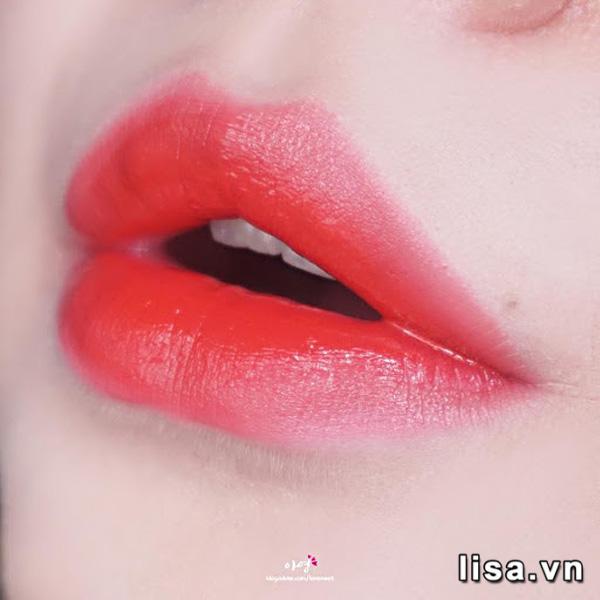 Son Black Rouge Strawberry Red A01 - Đỏ Dâu 9