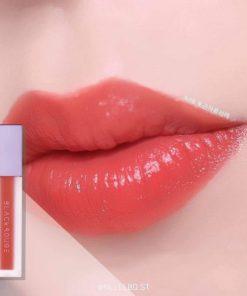 Son Black Rouge Air Fit Velvet Tint Ver 2 Màu A08 Warm Shaddock - Cam Đào 5