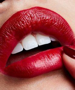 Son Mac Red Satin - Màu Đỏ Thuần 6