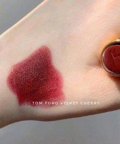 Quà Tặng Bạn Gái Ý Nghĩa Son Tom Ford 08 Velvet Cherry - Đỏ Rượu 2