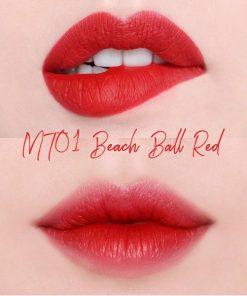 Son Black Rouge MT01 - Màu Đỏ Tươi 5