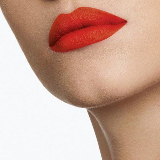 Son YSL Slim 02 Strange Orange - Màu Cam Đỏ 3