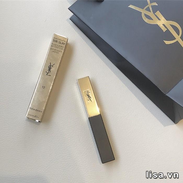 Thiết kế YSL Rouge Pur Couture The Slim 12 thon dài dáng siêu mẫu