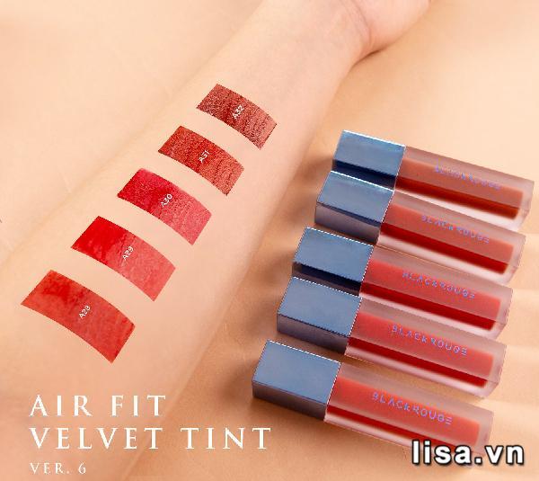 Velvet Lip Tint Ver 6 là dòng son Hàn Quốc đang hot tại Việt Nam