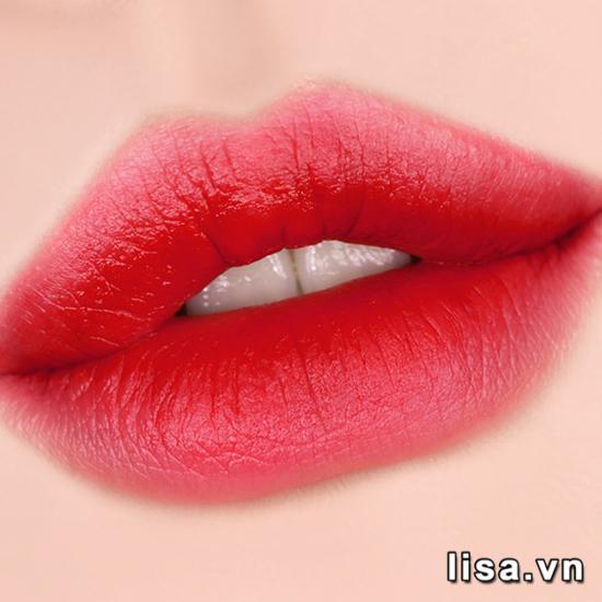 Son Black Rouge Air Fit Velvet Tint Ver 6 Màu A29 Pink Hibiscus Garden - Hồng Cháy 2