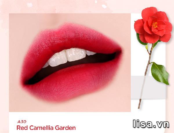 Sắc son Black Rouge A30 đỏ hồng kiêu sa, lên môi đẹp không tỳ vết
