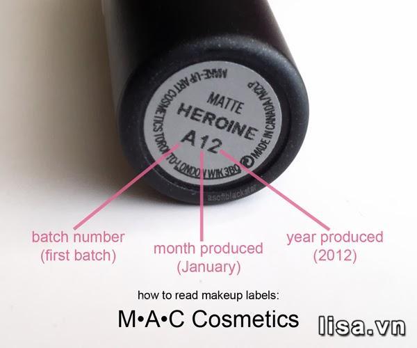 Thỏi son MAC Matte Heroine A12