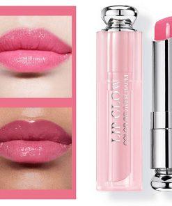 Son Dưỡng Dior Lip Glow Màu 008 Ultra Pink - Hồng Cánh Sen 6