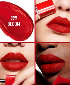 Son Kem Dior Rouge Ultra Care Liquid Màu 999 Bloom - Ðỏ Tươi 6