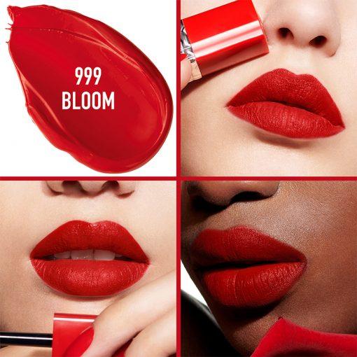 Son Kem Dior Rouge Ultra Care Liquid Màu 999 Bloom - Ðỏ Tươi 2