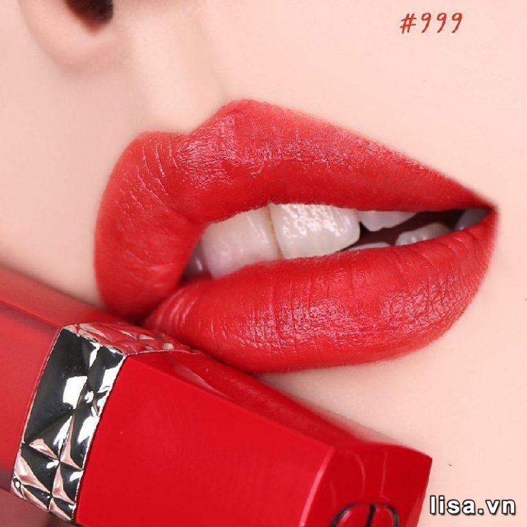 Son Kem Dior Rouge Ultra Care Liquid Matte 999 Bloom màu đẹp, chất mịn
