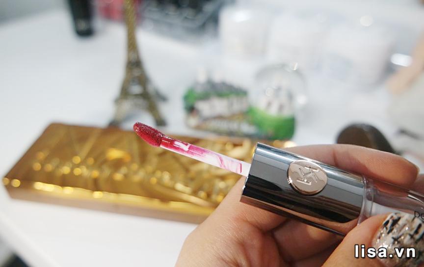 Kiko Unlimited Double Touch 107 mỏng nhẹ mịn môi phần lì nhiều dưỡng