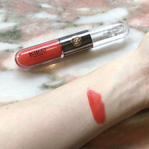Son Kem Kiko Unlimited Double Touch Màu 114 Orange Red - Đỏ Cam 4