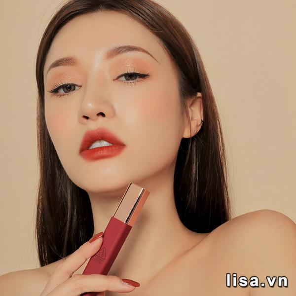 Son 3CE Cloud Lip Tint Needful được đánh giá cao về màu sắc và chất son
