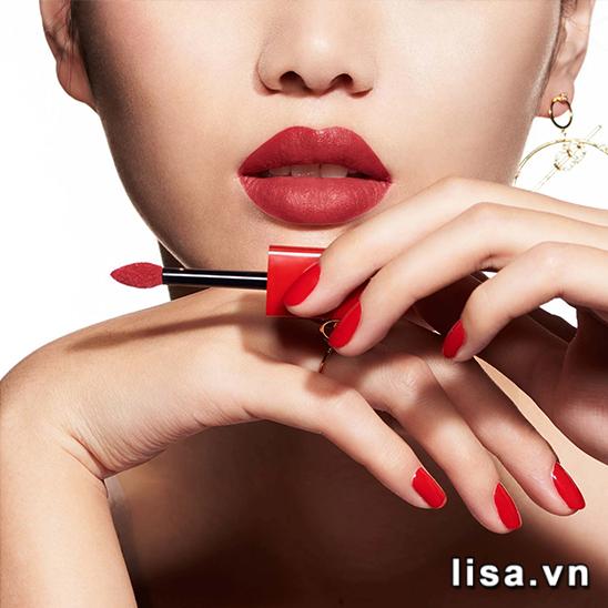Son Son kem Dior 635 Ecstase màu đỏ đất tôn da