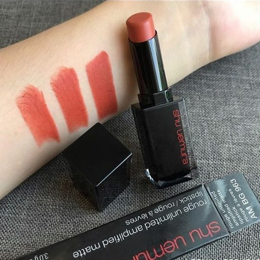 Shu Uemura Unlimited Amplified Matte AM BG 963 Màu Cam Ðất (NEW) 3