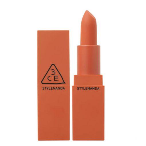 Son 3CE Matte Lip Color Màu 229 Dry Tangerine - Cam Vỏ Quýt Khô 1