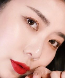 Son Black Rouge Air Fit Velvet Tint Ver 7 Màu A34 Sensual Queen of Burnt - Cam Gạch 8