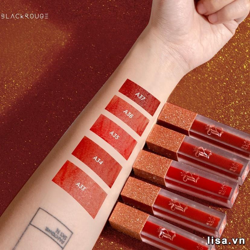 Trong BST Black Rouge Ver 7, màu A35 có màu sắc tươi nhất