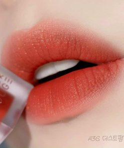 Son Black Rouge Air Fit Velvet Tint Ver 7 Màu A36 Dust Pumpkin - Cam Nâu 7