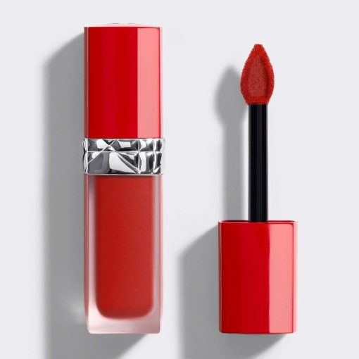 Son Kem Dior Rouge Ultra Care Liquid Màu 860 Flirt - Ðỏ Hồng 1