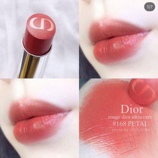 Son Dior Rouge Ultra Care Màu 168 Petal - Cam Đất 2