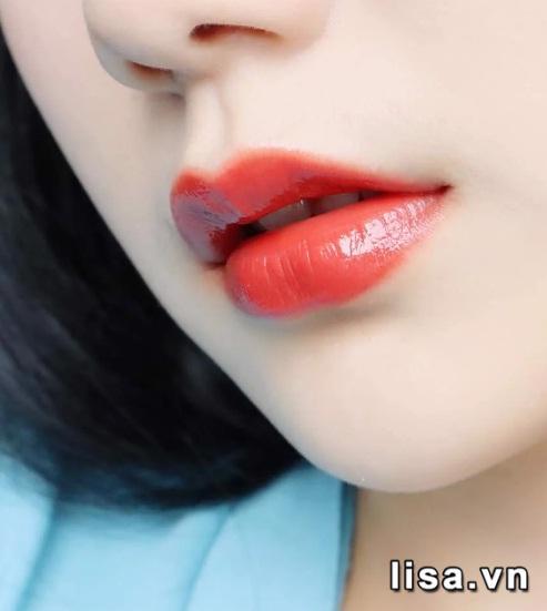 Chất son Dior Rouge Ultra Care 635 lì mịn như lụa