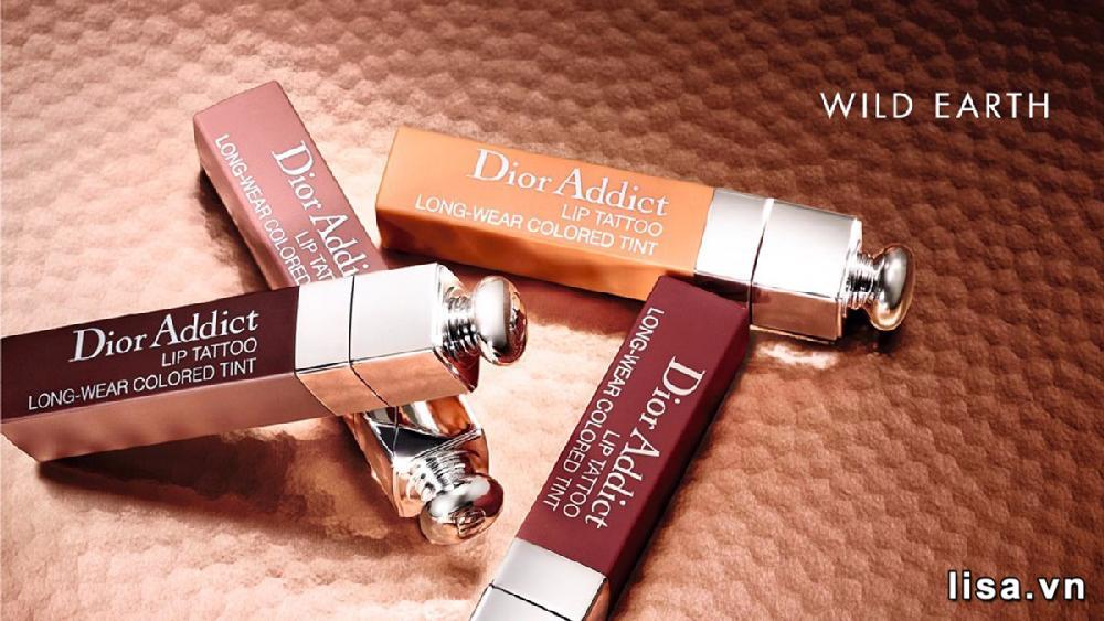 Bộ sưu tập son môi Dior Tattoo có thiết kế tinh tế, đẹp mắt