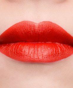Son Gucci Rouge à Lèvres Voile Màu 302 Agatha Orange - Cam Đỏ 7