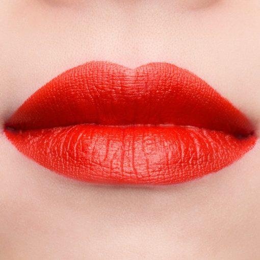 Son Gucci Rouge à Lèvres Voile Màu 302 Agatha Orange - Cam Đỏ 3