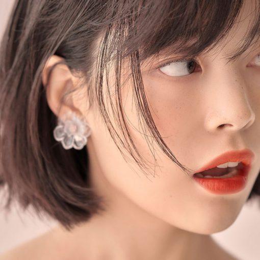 Son Gucci Rouge à Lèvres Voile Màu 302 Agatha Orange - Cam Đỏ 4